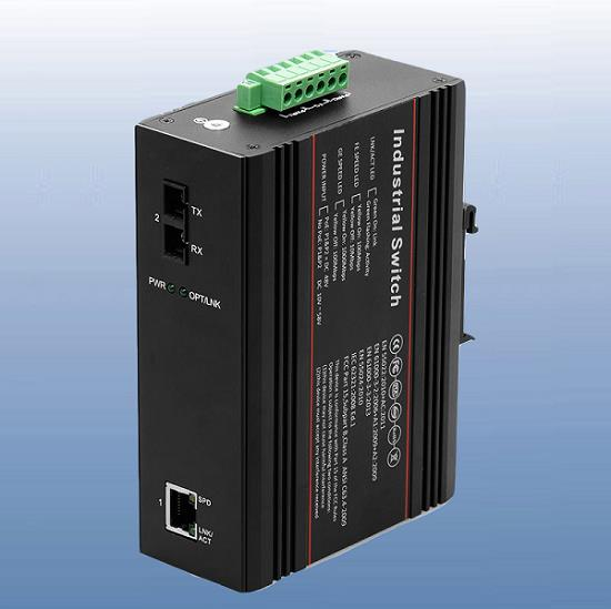 工业级千兆光纤收发器